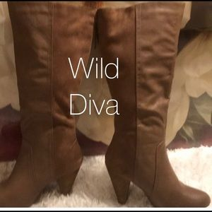 Shoes - SEXY LEATHER AND SUEDE BOOTS
